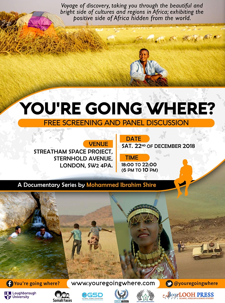 'You're Going Where?' Horn of Africa Documentary Screening + Panel Session image
