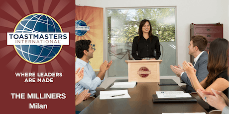 English Public Speaking with The Milliners Toastmasters biglietti