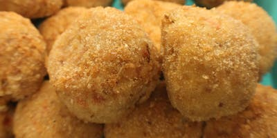 Making Arancini from Scratch (*Gluten Free Option Available)