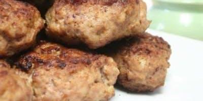 Making Meatballs and Marinara Sauce (Gluten Free Option Available*)