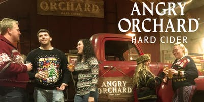 Angry Orchard Ugly Sweater Holiday Party