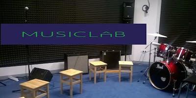 MUSICLAB -BLUE ROOM - Abilitazione sala prove