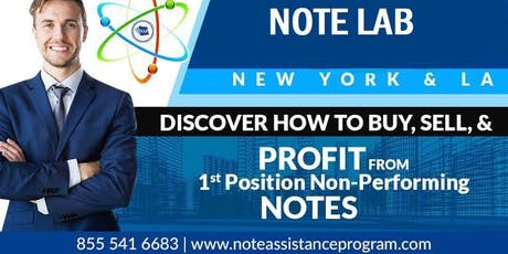 NOTE LAB-NEW YORK Edition ~ Presented by The Note Assistance Program tickets