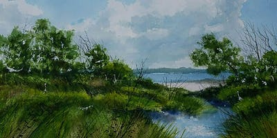 1 Day Workshop: Lowcountry Landscapes in Watercolor with Thomas Hanlon