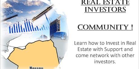 REAL ESTATE INVESTORS COMMUNITY & COACHING (VA) tickets