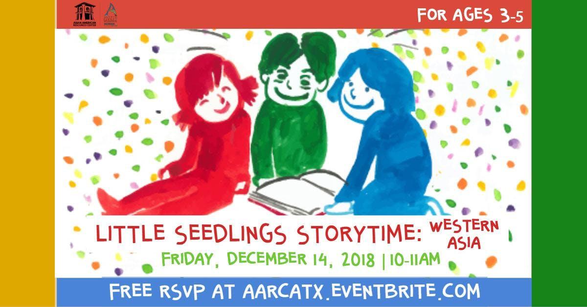 Little Seedlings Storytime: Western Asia