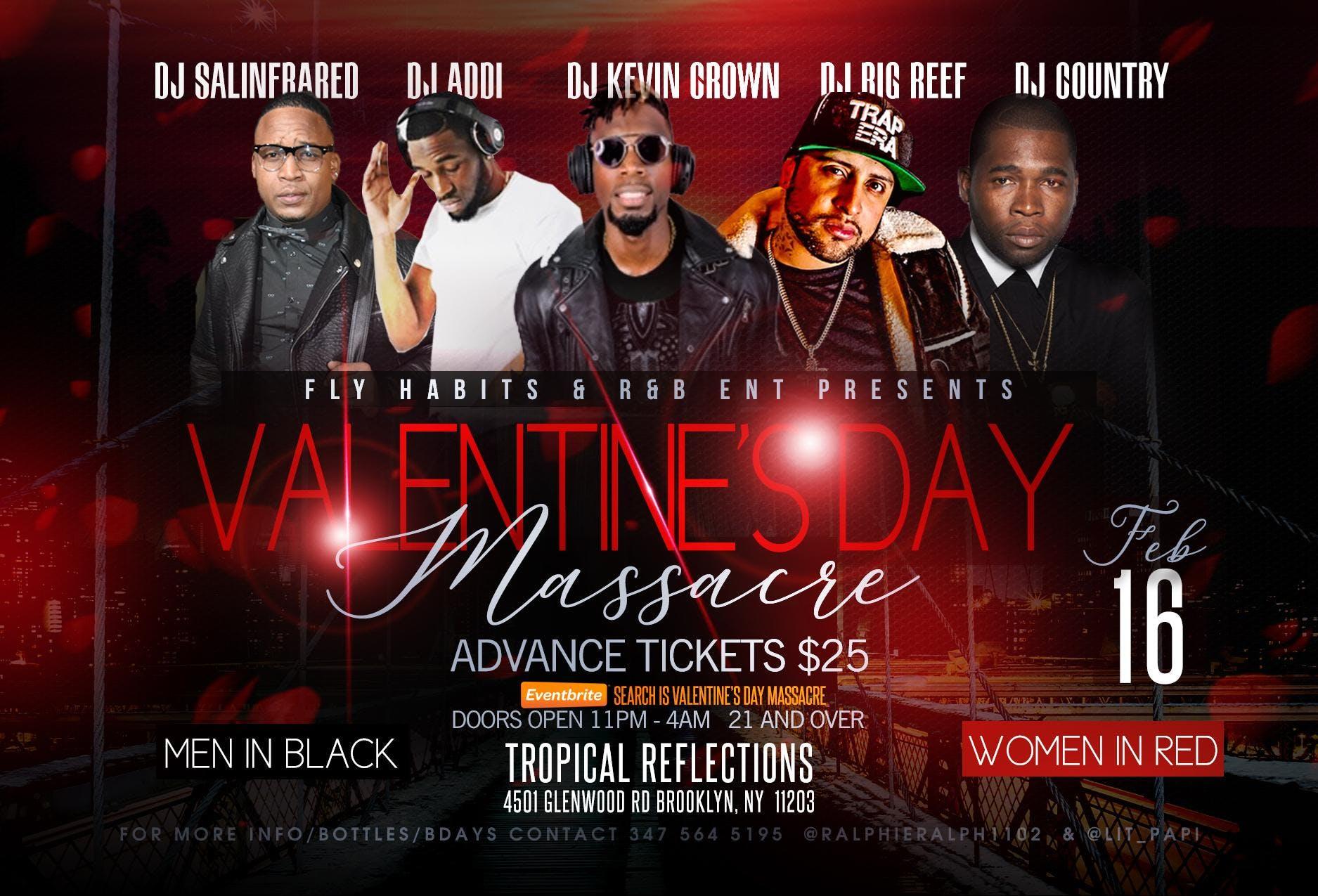 Valentines Day Massacre 16 Feb 2019