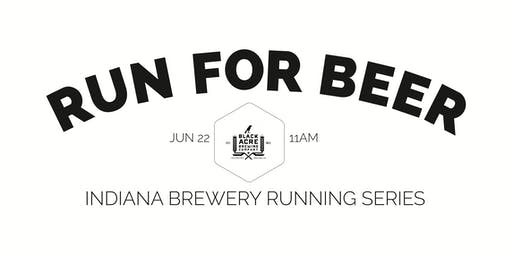 Beer Run - Black Acre Brewery- Part of the 2019 Indy Brewery Running Series