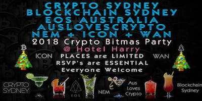 Crypto Sydney/Blockchain Sydney/EOS Australia/AusLovesCrypto Bitmas Party