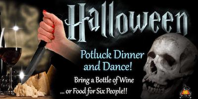Halloween Night Salsa Class, Potluck Dinner & Dance!!