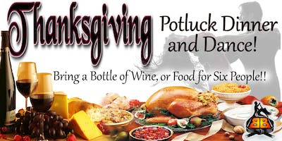 Thanksgiving Night Salsa Class Potluck Dinner & Dance!!