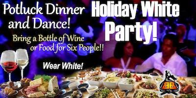 """Holiday """"Wear White"""" Salsa  Class, Potluck Dinner & Dance!!"""