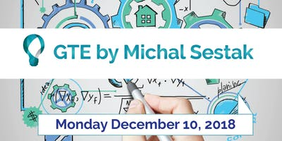 """ISEAA's Agents Training Programme presents """" GTE by Michal Sestak\""""."""