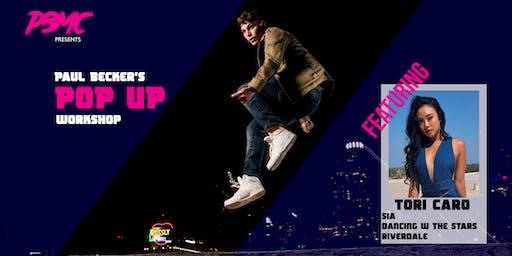 Paul Becker's Pop Up Workshop WINNIPEG (feat Tori Caro)
