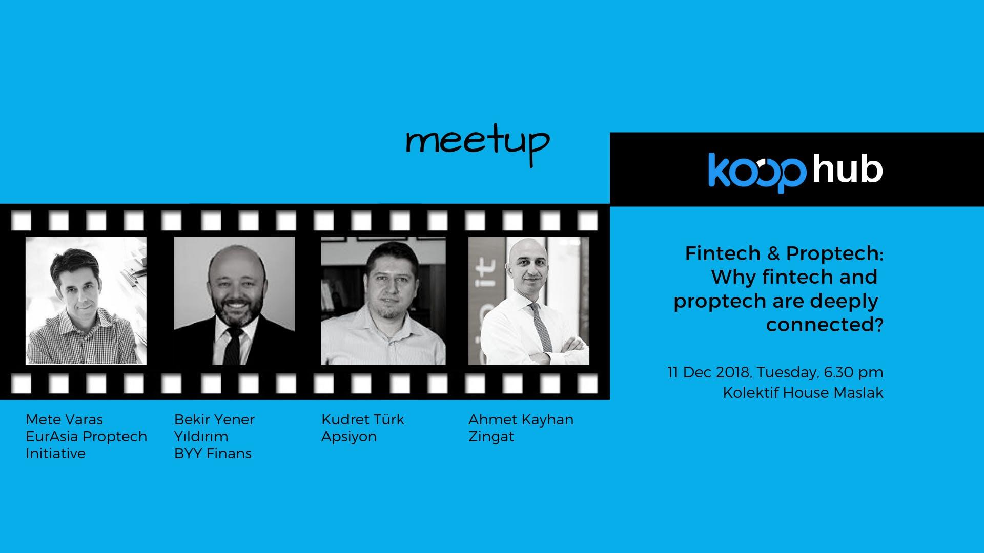 Fintech & Proptech Meetup