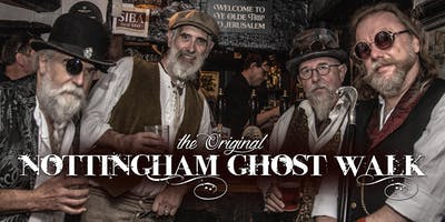 The Nottingham Ghost Walk - October to December 2019