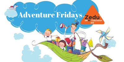 Apple Crafts&Arts Adventure Friday for 3-6 YRS