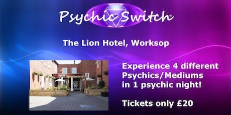 Psychic Switch - Worksop tickets