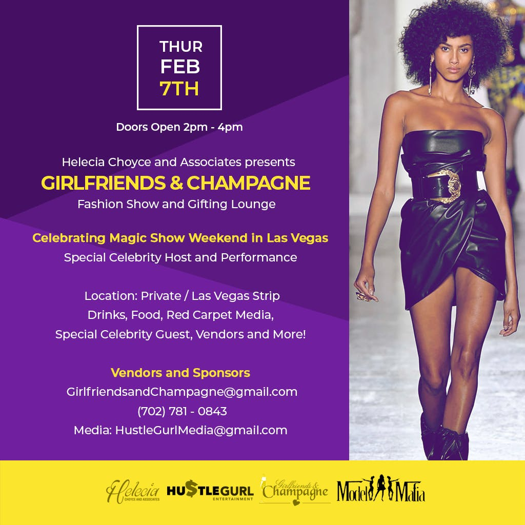 Girlfriends and Champagne Fashion Show and Gifting Lounge