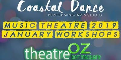Music Theatre 2019 January Workshops 7- 12 years