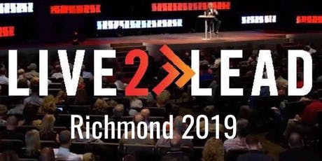 LIVE2LEAD- Richmond Conference 2019 tickets