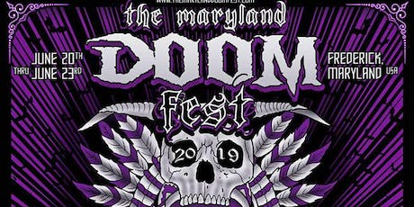 The Maryland Doom Fest 2019 WEEKEND PASSES tickets