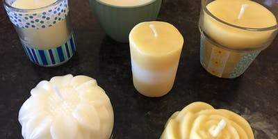 Beeswax Candle Making Class