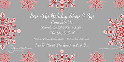 Culaccino Productions Holiday Pop Up Shop & Sip