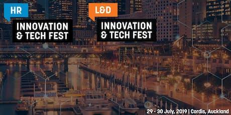 HR and L&D Innovation & Tech Fest NZ 2019 tickets