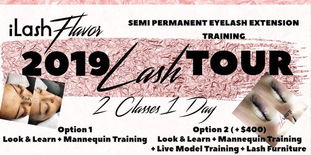 Ilash Flavor Eyelash Extension Training Seminar Chicago