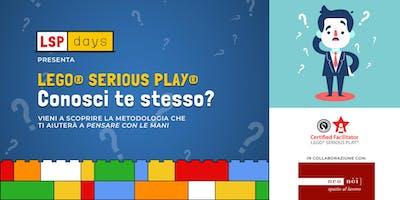 "LSP days - Workshop LEGO® Serious Play®: ""Conosci te stesso?"""