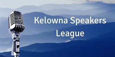 Kelowna Speakers League Feb  5th 2019
