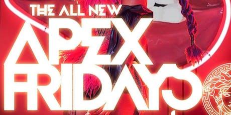 MEDUSA LOUNGE | APEX FRIDAYS (#1 Friday Club/Party) tickets