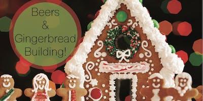 Beer & Gingerbread Building!