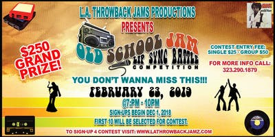 Old School Jamz Lip Sync Battle Competition Vol. 1