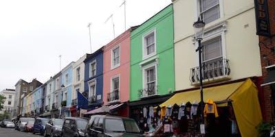 A walk around fashionable Notting Hill