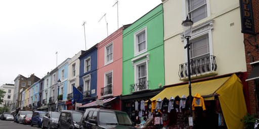 A walk around fashionable Notting Hill