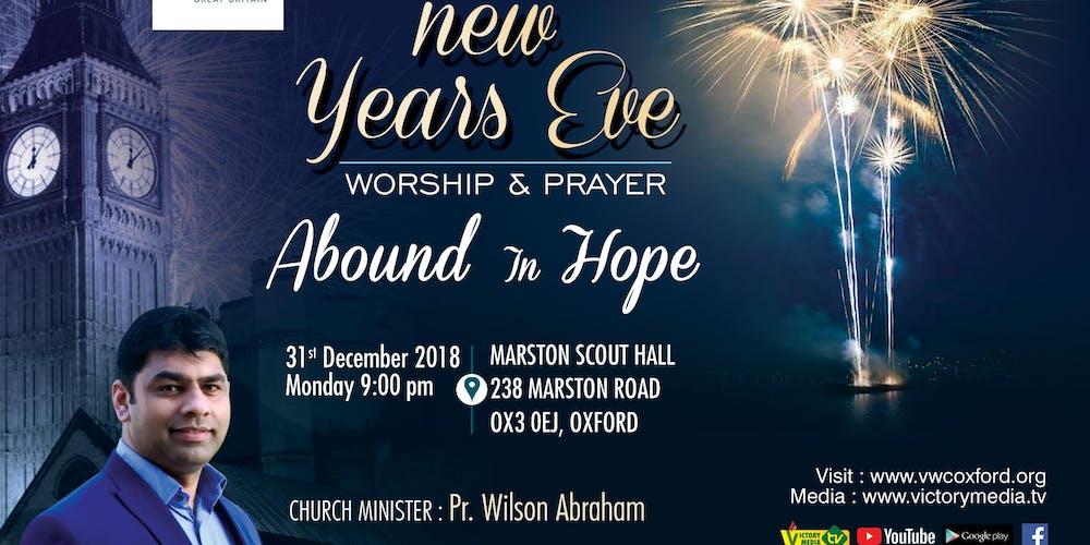 New Years Eve Worship & Healing Prayer Tickets, Mon, Dec 31, 2018 at ...