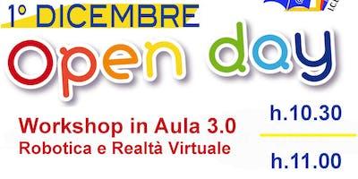 Workshop di Robotica e Realtà Virtuale h. 11.00 - Secondaria Biagio Bellotti