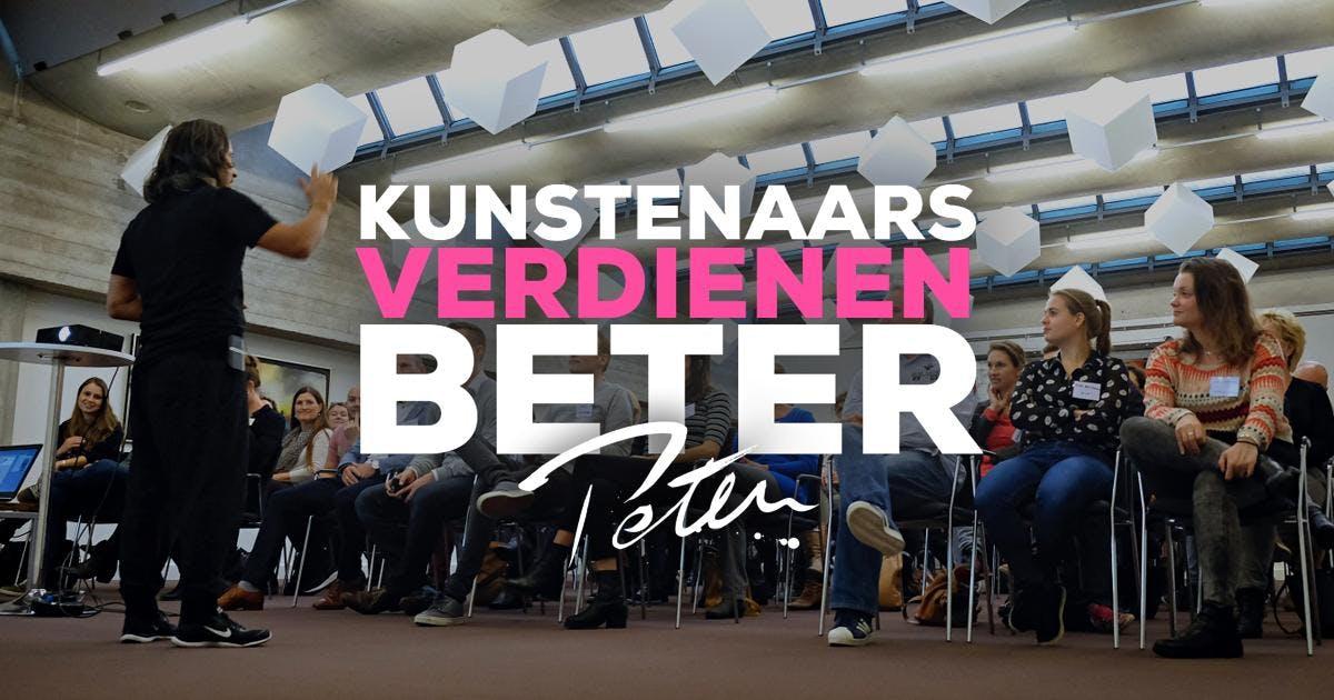 Kunstenaars Verdienen Beter zaterdag 19 janua