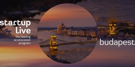 Startup Live Budapest — boost your startup tickets