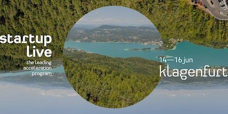 Startup Live Klagenfurt - 10th Anniversary Lakeside Edition Tickets