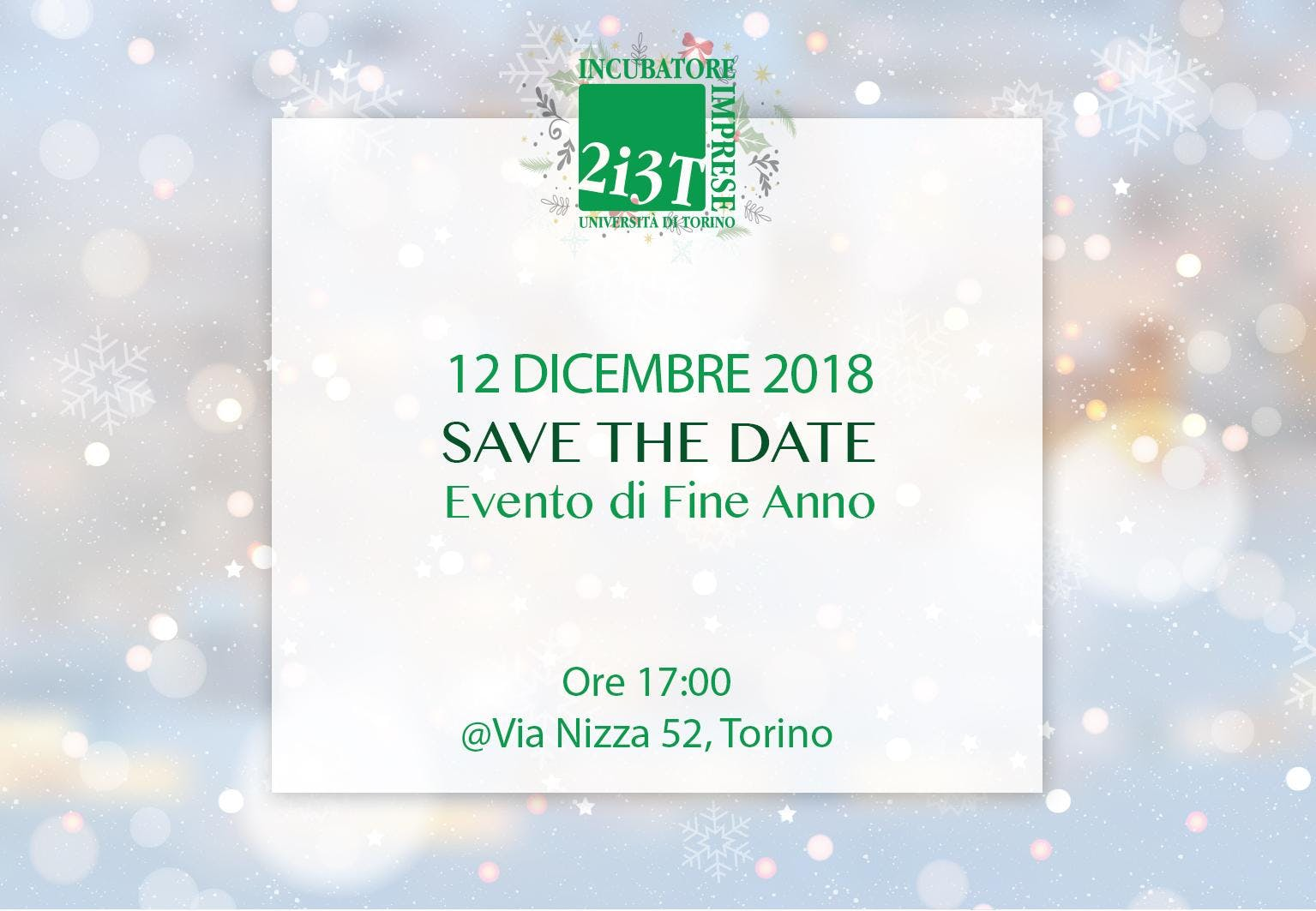 Talks about Entrepreneurship 2018 - Evento di
