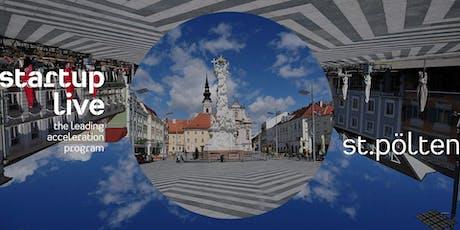 Startup Live St. Pölten — boost your startup Tickets