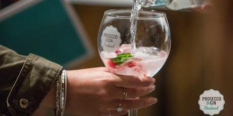 Prosecco and Gin Festival Norwich tickets