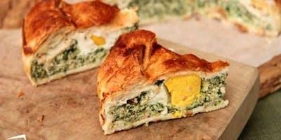 "Easter Brunch Savory Tart: ""Torta Pasqualina"""