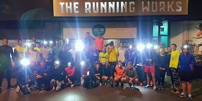 The Running Works & Salomon Winter Run Series