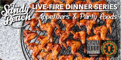 Appetizers & Party Foods Live-Fire Dinner