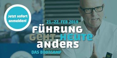 FÜHRUNG GEHT HEUTE ANDERS – Das Bootcamp