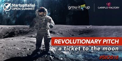 Revolutionary Pitch: a ticket to the moon